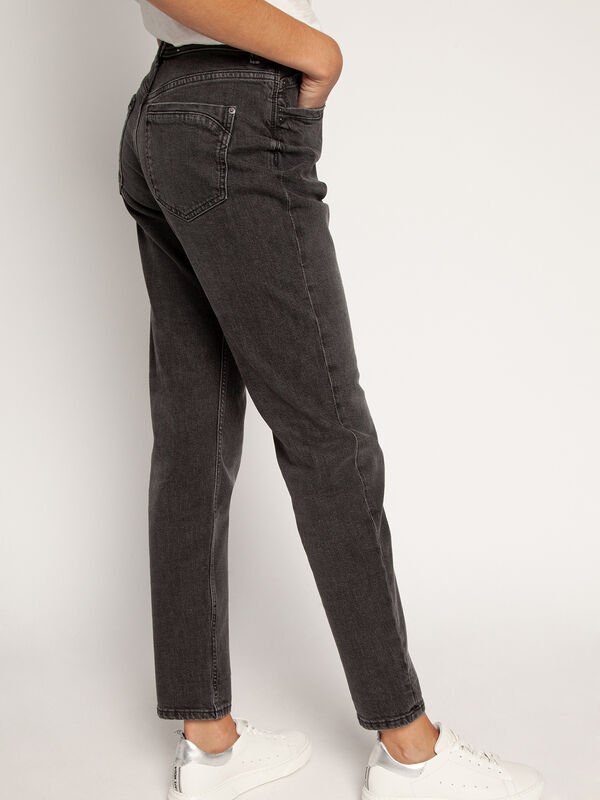 Tapered-Fit Jeans