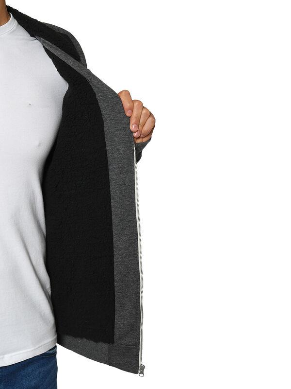 Veste molletonnée à capuche