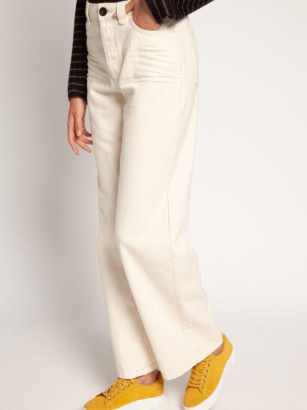 Spijkerbroek Wide Leg