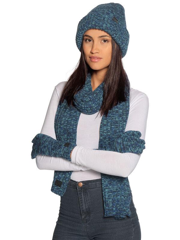 Écharpe + bonnet + gants